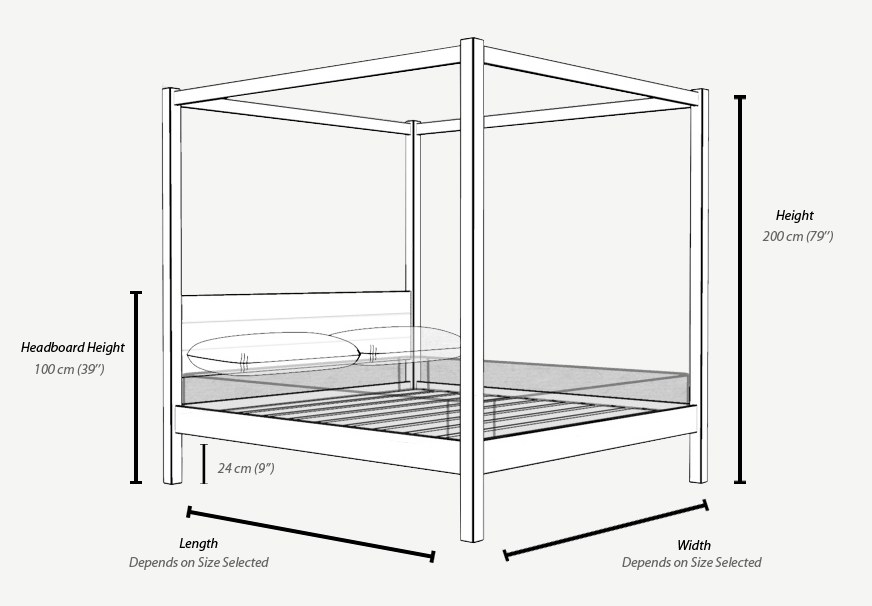 Cube Timber Bed Design