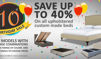 BedWorks 10 Year Anniversary Sale
