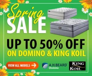 Domino & King Koil Mattresses Sale