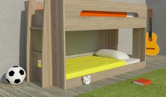 Bunk Bed For Sleepover
