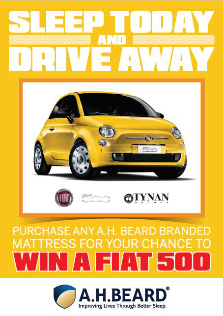 Win a Fiat 500 with AH Beard - Promotion