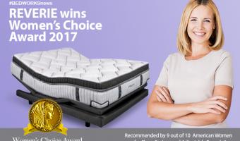 REVERIE wins Women's Choice Award 2017