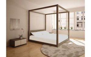 sunny-four-poster-custom-timber-frame