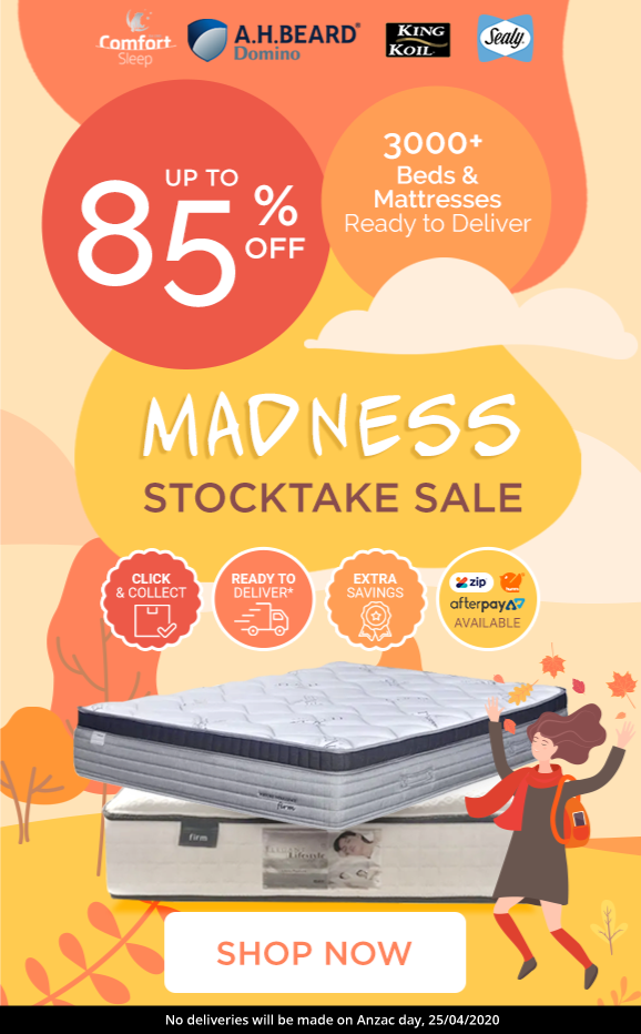 Over 3000 Beds & Mattresses Are Ready To Deliver.